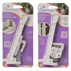 Window Latch - For Inward Or Outward Opening Windows White New Practic Product