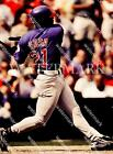 BM516 Sammy Sosa Cubs Hitting The Baseball 8x10 11x14 16x20 Oil Painting Photo