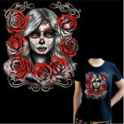 * Tattoo Damen T-Shirt Dia de los muertos mexican Motiv Oldschool Flash *1034