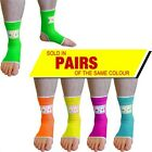 NEON ANKLE SUPPORTS FOR THAIBOXING KICKBOXING