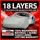 18 Layer Car Cover - Outdoor Waterproof Scratchproof Breathable cheap
