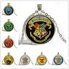 2016 Hot Movie Harry Potter Time Gem Photo Art Pendant  Vintage Chain Necklace W