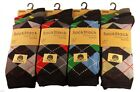 Stylish ARGYLE Premium Quality Socks. Mixed colours. UK 6 - 11 / EU 49 - 46