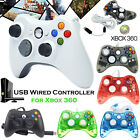 2018 NEW CONTROLLER JOYPAD JOYSTICK FOR MICROSOFT XBOX 360  WIRED PC LAPTOP UK