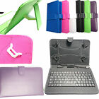 PU Leather Stand Case Built-In Keyboard for Asus MeMo Pad 7 ME70C / ME170C