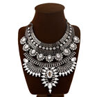 Large Women Party Statement Necklace Jewelry Chunky Choker Vintage Necklace