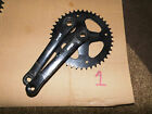bike cranks NEW Royal Mail Post office bike NOS 42t chainset  / cranks