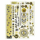 MLB Metallic Body Jewelry Tattoos Set Of 2 - Pick Your Team