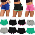 Women's Girls Jersey Hot Pants Running Shorts Gym Beach Sports Yoga Workout Hot