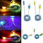 Light Up LED Micro USB Data Sync Charger Cable For Android Smart Phone