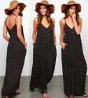 Sexy Women Summer Boho Long Maxi Evening Party Dress Beach Chiffon Dresses New