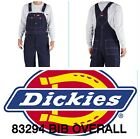 DICKIES BIB OVERALLS 83294NB DENIM INDIGO RINSE BLUE WORK