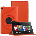 360 Rotating Magnetic Leather Case Cover For Amazon Kindle Fire 7''/HD 8 10 2015