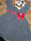 Dress Outfit Black White Heart Print Jenny Me Girl Size 5 6 or 6X New