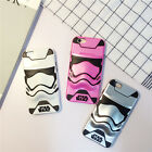 Cute 3D cartoon Star Wars Hybrid Armor shockproof case cover for iphone6 6S plus