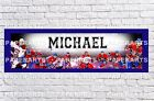 Personalized Montreal Canadiens Name Poster with Border Mat Art Painting Banner $16.0 USD on eBay
