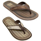 JMR006 Majorca Mens Backless Faux Leather Suede Straps Thong Mule Sandals