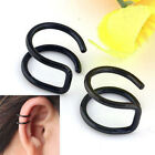 Non-piercing Cartilage Cuff EarDrop Chic Unisex Clip-on Earrings Jewelry 4 Color