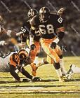 BN319 LC Greenwood Steelers Going For The Sack 8x10 11x14 Oil Painting Photo