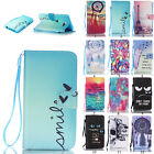 Hybrid Luxury Flip Stand Strap Wallet PU Leather Cover Card Case for Samsung New