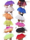 Ladies Tutu Fancy Dress Adult Underskirt Accessory Hen Party 80s Neon Skirt 1980