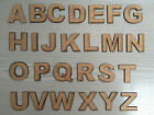 Wooden Craft Alphabet Letters & Numbers Shapes Laser Cut MDF 3mm thickness Wood