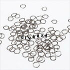 New Wholesale Mixed Colors Round Open Jump Rings Iron Jewellery Finding Fit DIY