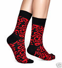 Happy Socks 1 Paar Artsy Damen Socken Socks Rot-Schwarz 36-40