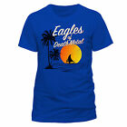 EAGLES OF DEATH METAL T-SHIRT SUN LOGO BLAU GR:M,L,XL,XXL RAR NEU