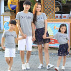 New Summer Family look father Boys sets Outfits girl mother dress girls Dresses