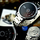 Creative Stainless Steel Men's Military Sport Analog Quartz Wrist Watch Fashion
