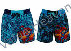Boys Superman Swim Shorts Elasticated Waist Pockets Blue Size 2 3 4 5 6 8 Years