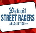 DETROIT STREET RACERS T-Shirt Dragster Drag racing Street Outlaw Musclecar race