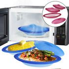 3 Mastrad Orka Silicone Steamers Lids 20oz Oval Cookware Microwave & Oven Safe