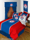 Texas Rangers Comforter Sham Bedskirt Curtains Valance Twin Full Queen King Size