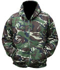 HEAVY BLEND 300g COTTON/POLYESTER FLEECE LINED BRITISH DPM CAMO ZIPPED HOODIE