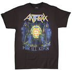 Anthrax - For All the Kings Cover - black t-shirt - OFFICIAL MERCH