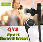 Fochutech QY8 Sports Bluetooth Wireless Headset Neckband for iphone7 Samsung LG