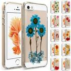 New Flower TPU Rubber Skin Case Cover Premium Protective Case For iphone SE/5s/5