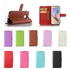 9Colors Litchi Leather Cover Stand Case Pouch For Alcatel Mobile Phones 38 A