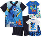 Boys Official Finding Dory Short Sleeved Disney Pyjama Set New Kids PJs 3-8 Yrs