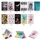 Cartoon Painting Flip Stand PU Leather Cover Case For Apple IPAD Tablets 46