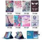 """Universal Painting Slim Stand Leather Cover Wallet Case For 10"""" inch Tablet 09 A"""