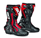 SIDI ST RED HINGED MOTORCYCLE SPORTS BIKE BOOTS SUITABLE FOR RACING