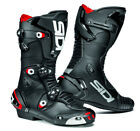 SIDI MAG 1 MOTORCYCLE BIKE SPORTS RACE BOOTS WITH MAGNETIC FASTENERS BLACK