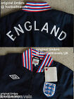 SMALL or MEDIUM ENGLAND UMBRO ALF RAMSEY' NAVY JACKET football soccer calcio NEW
