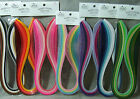 Quilled Creations Quilling Mixed Colors Paper Strips 1/8 inch 3mm 100/pack