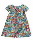 Girl's 2-5 Years Liberty of London Cotton Handmade Summer Dress, Tiny Poppytot