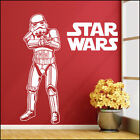 Star Wars Bedroom Storm Trooper  Logo Wall Art Sticker Matt Vinyl Decal Transfer