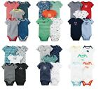 NEW NWT Boys Carter's 5 Pack Bodysuits Newborn 3 6 9 or 12 Months You Choose!